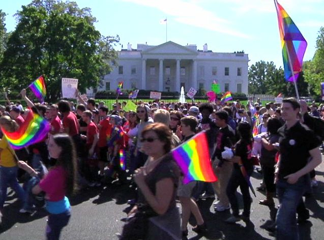 VOA News: Gays and Lesbians March on Washington