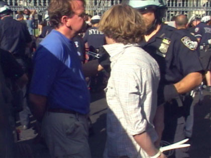 GMA: RNC 2004: 400 Detained in Massive Arrests